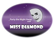 Miss Diamond sticker